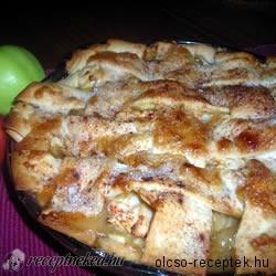 Almás-vaníliás pite