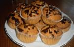 Búvártúrós muffin kép