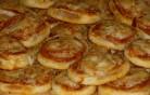 Mini pizzás csiga kép
