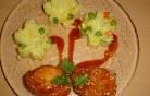 Csirkemell szezámos-mézes bundában