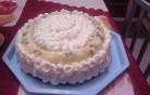 Gesztenyés puding torta kép