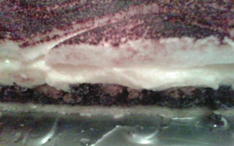Linzer mákos-krémes