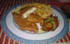 Csirkelmell fűszeres bundában kép