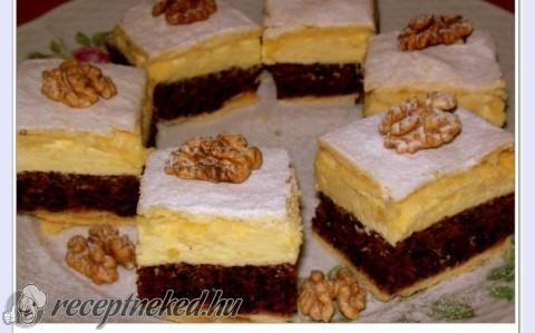 Diós ünnepi sütemény