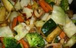 Sült zöldségköret kép