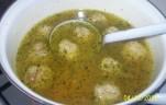 Darált húsos leves