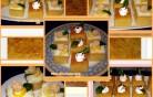 Bögrés citromos-grízes kocka