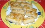 Szezámmagos sós rudacskák