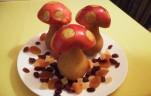 Gyümölcs gomba kép