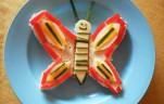 Pillangó kenyér kép