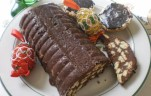 Csokis szalámi