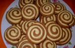 Kétszínű keksz kép