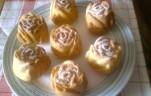 Mini rózsa kuglófok