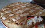 Királyi almás pite