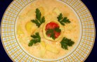 Tejfölös burgonyaleves kép