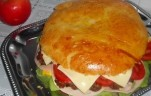 Óriás hamburger kép