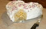 Oroszkrém torta babapiskótával kép