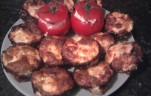 Tükörtojás muffin kép