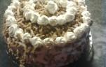 Gesztenyepüré torta kép