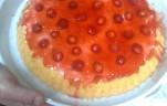 Gyümölcstorta kép
