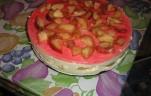 Babapiskóta torta kép