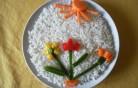 Virágos rizs kép