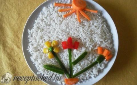 Virágos rizs