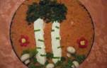 Kolbászos pástétomból parkocska kép