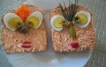 Mókás szendvics kép