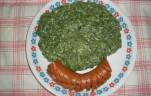 Spenót főzelék