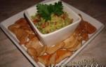 Guacamole csirke chips-el kép