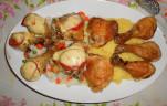 Bazsalikomos csirke