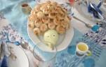 Vajas pogácsás süni kép