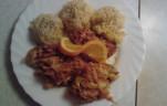 Mézes joghurtos csirke kép
