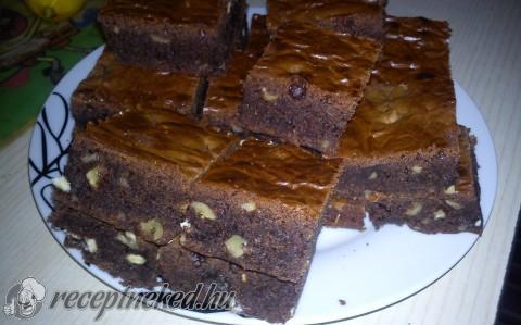 Isteni csokis brownie