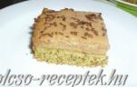 Egyszerű karamellás süti