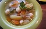 Grízgombóc leves kép