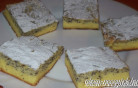 Mákos túrós pite kép