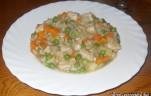 Csirkés - zöldséges rizottó kép