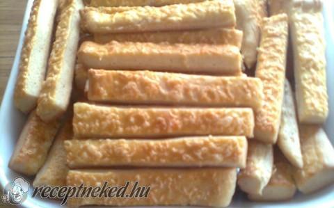 Bözsi sajtos rúdja