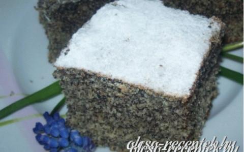 Mákos kevert sütemény