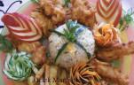 Almás bundában sült csirkemell csíkok kép