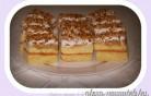 Habos almás sütemény