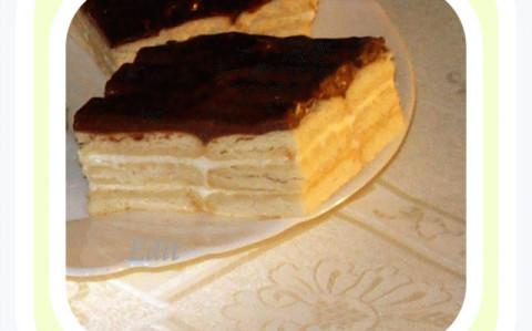 Kekszes-tejfölös sütemény