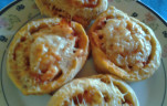 Pizzás csiga