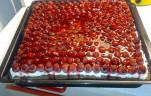 Málnás-túrós sütemény