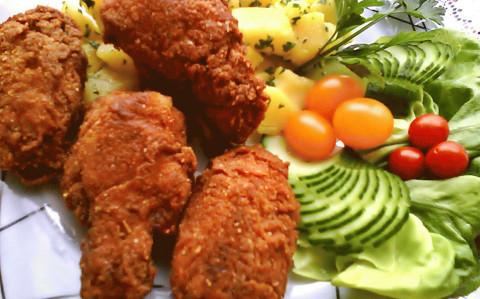 Fűszeres csirkeszárnyak