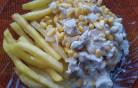 Kukoricás csirke