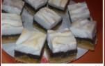 Habos-mákos őszibarackos sütemény