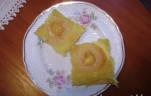 Karamellizált almás piskóta